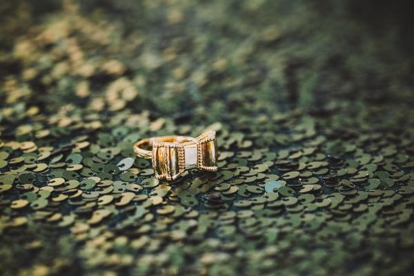 unique bowtie engagement ring
