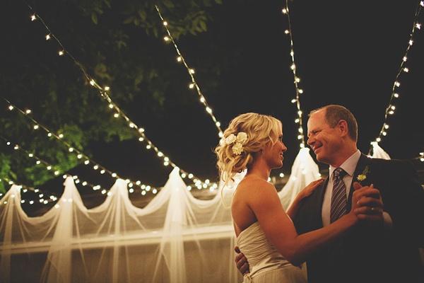 bride father dance wedding reception