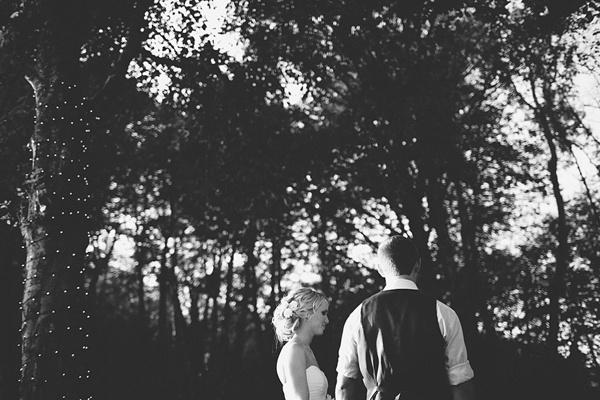 wedding ceremony black white photography