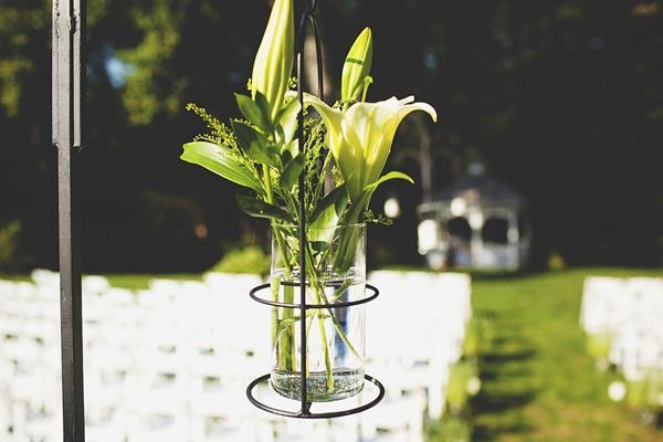 wedding ceremony aisle decor flowers