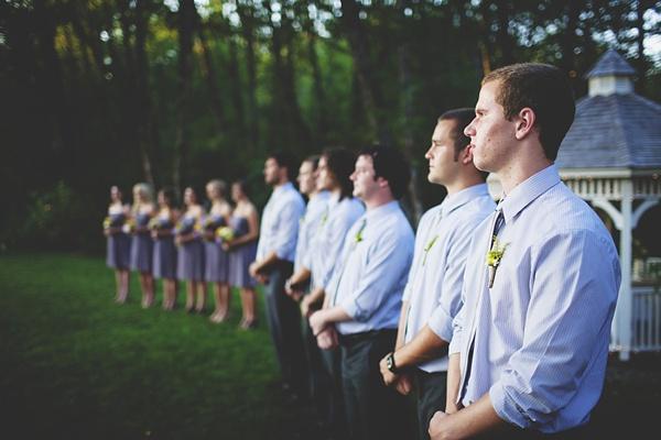 wedding party wedding ceremony formation