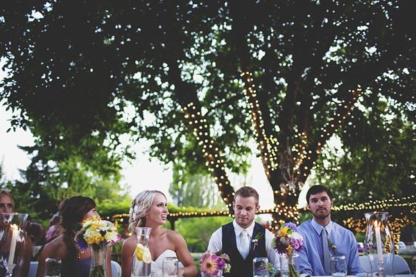wedding reception bride groom seating