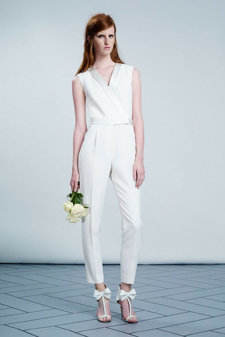 Bridal Jumpsuits All The Rage In 2014 Wedpics Blog