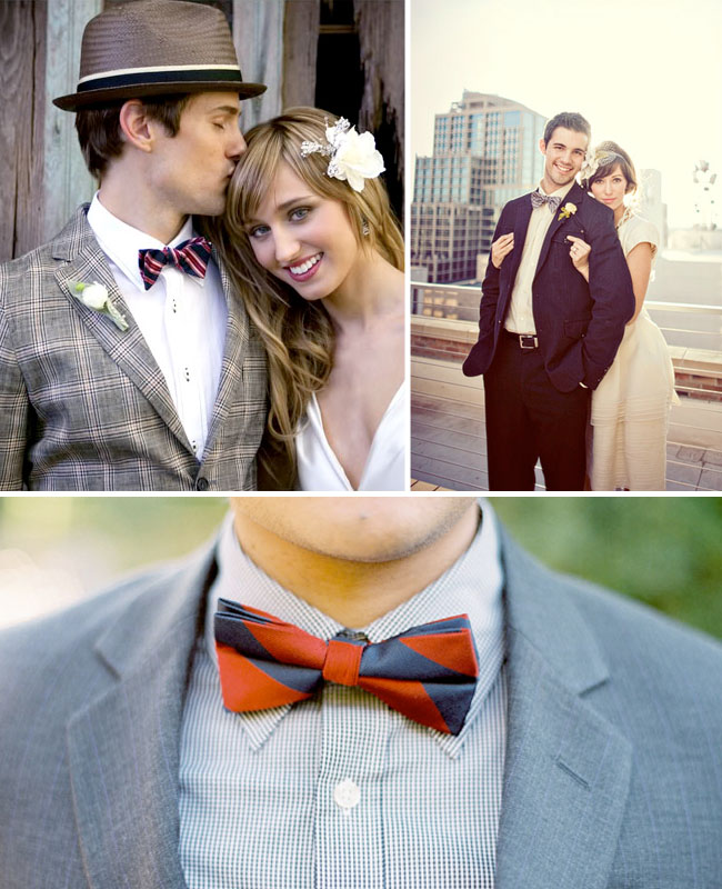 fun wedding bowties