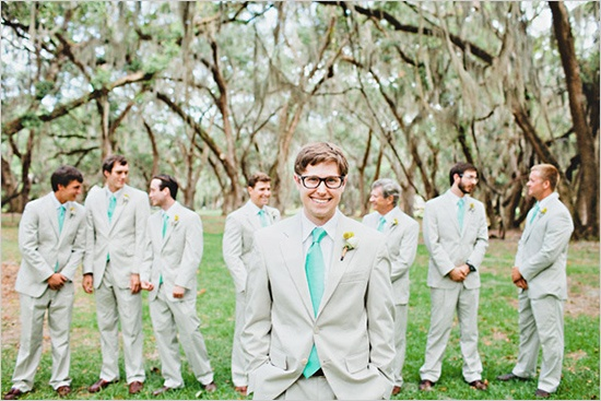 tan grooms suits