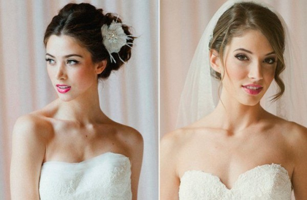 girly wedding makeup