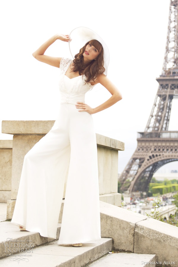 Bridal Jumpsuits: All the Rage in 2014 — Wedpics Blog