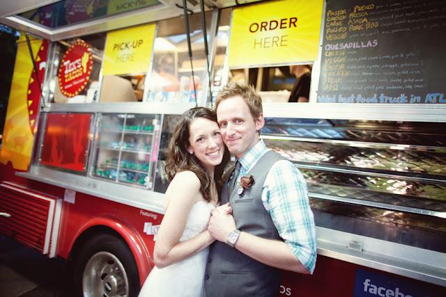 wedding food truck tacos