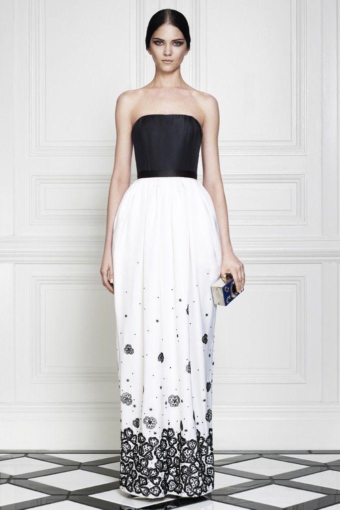go bold or go home black and white wedding dresses wedpics blog