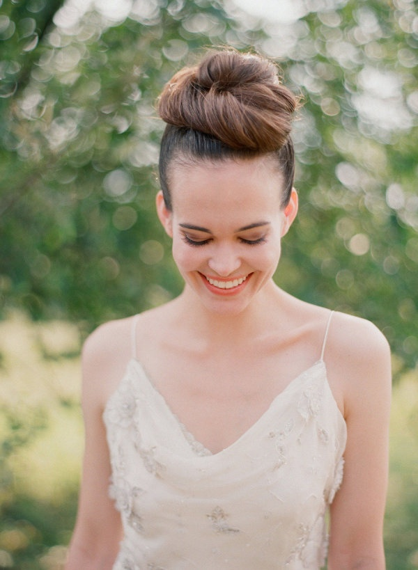 wedding top knot