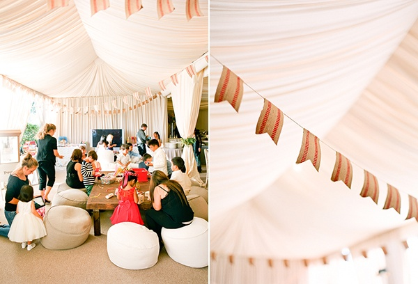 kids wedding tent