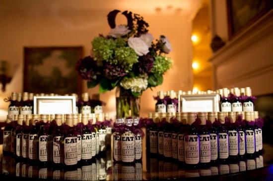 wedding wine bottles