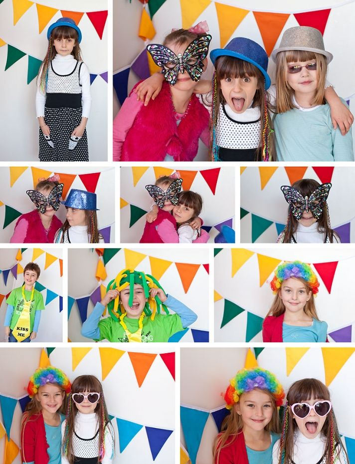 kids photo booth wedding
