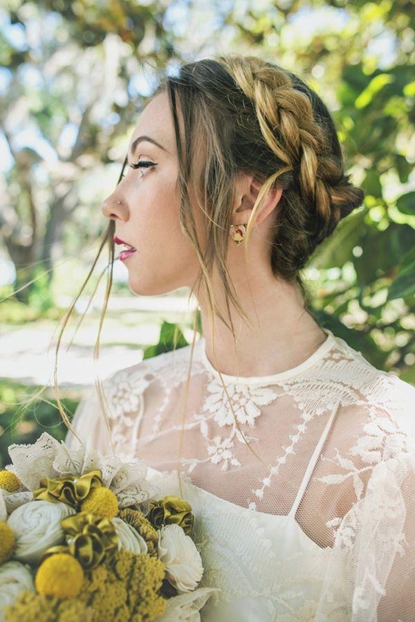 bridal braid hairstyle