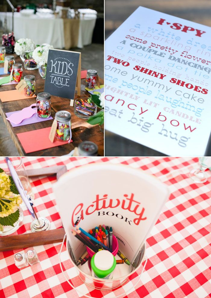 Unique Ideas for Fun Wedding Day Activities for Kids — Wedpics Blog