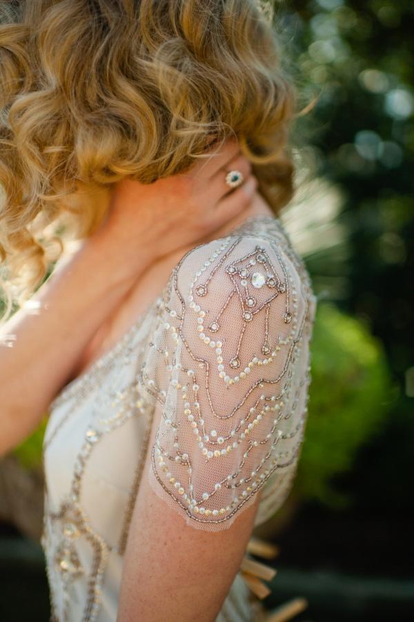 Vintage Gatsby Inspired Wedding Dresses