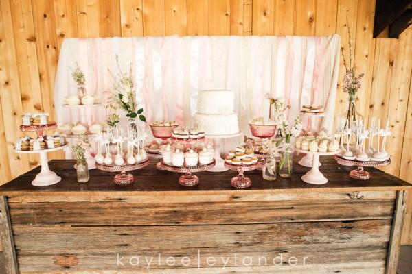 Rustic Country Farm Wedding Pink