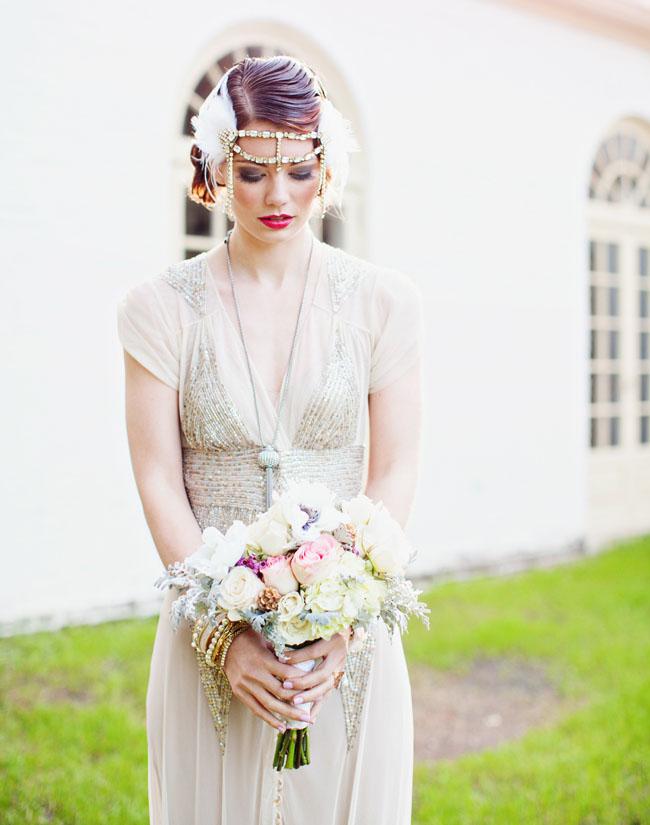 Vintage Gatsby Inspired Wedding Dresses — Wedpics Blog