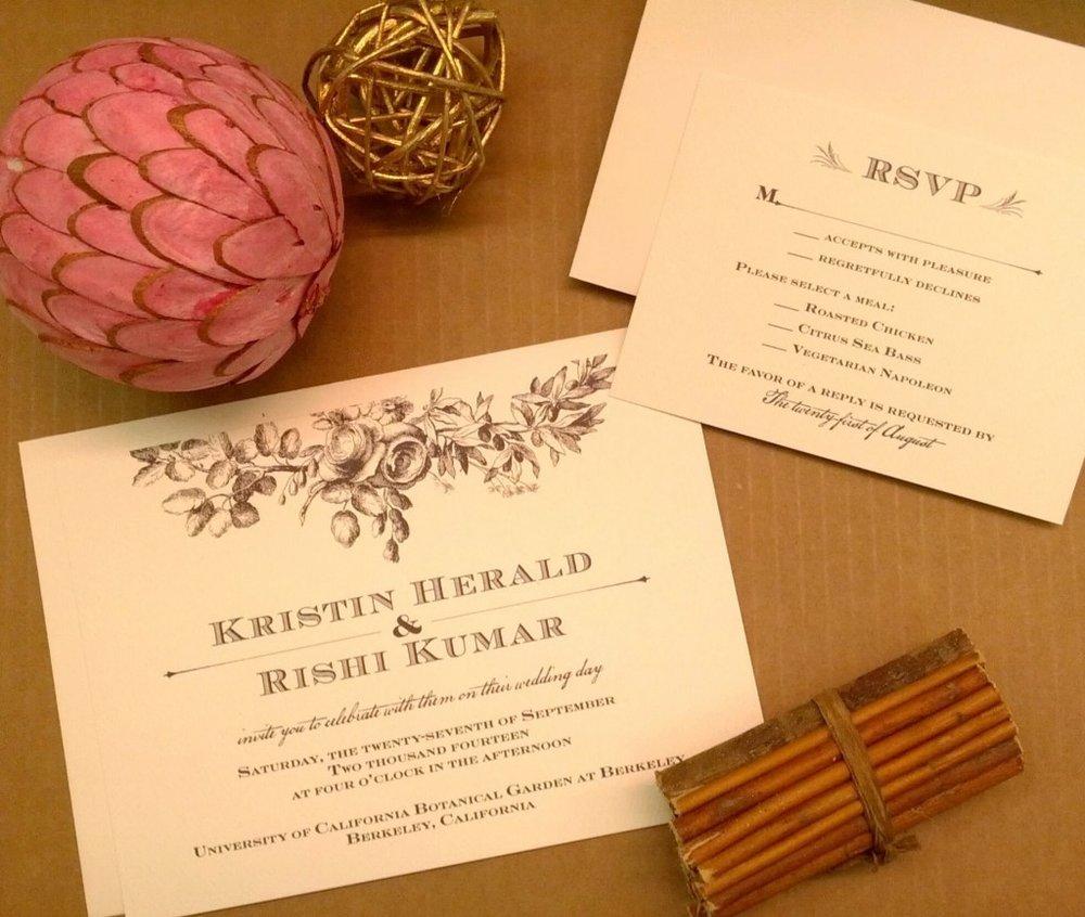 marrymomentbrown-vintage-floral-wedding-invitations