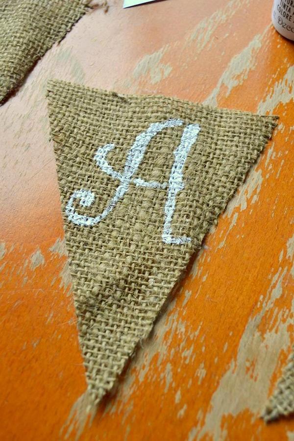 Tattooed Martha - No-Sew Burlap Triangle Banner (4)