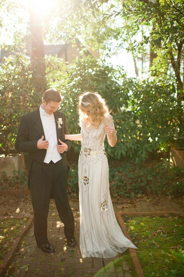 20 gold wedding dresses inspired by Jessica Simpson — Wedpics Blog