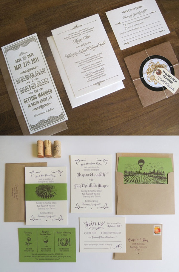 6 Notable Etsy Wedding Invitation Designers Wedpics Blog