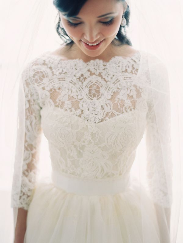 Long Sleeved Wedding Dresses 45 Glam Gowns For Fall Winter Brides