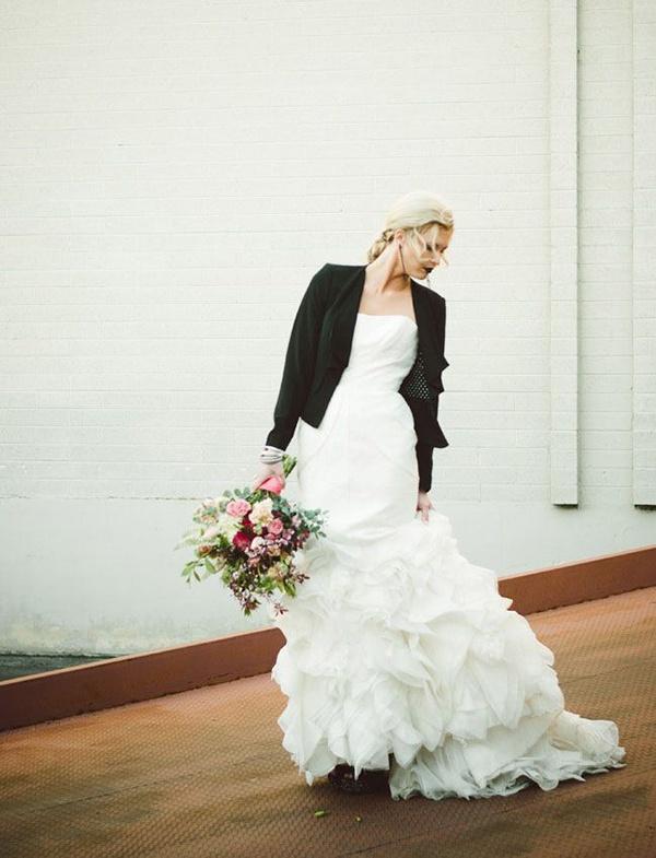 Photo by  Chantel Marie  via  Green Wedding Shoes