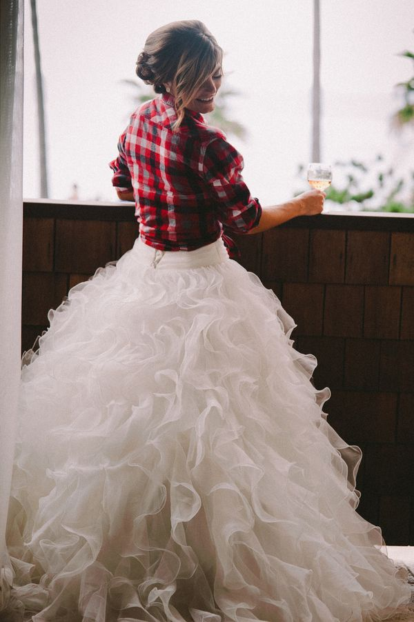 Photo by  Lisa Fitts Photography  via  Project Wedding