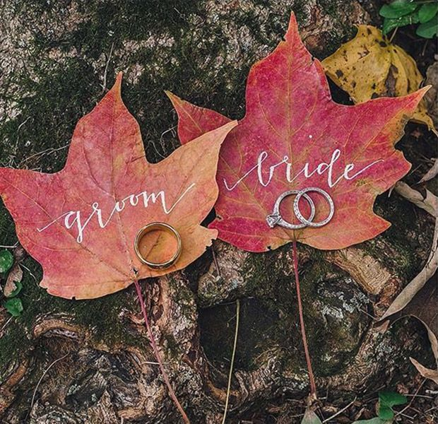 How to have a chic fall wedding: decor, flowers & more! — Wedpics Blog