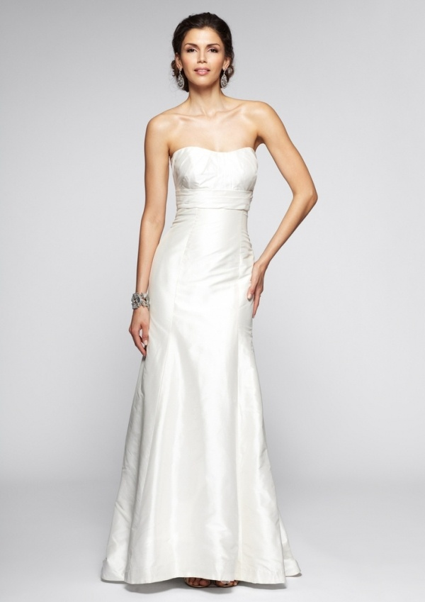 Jenny Yoo Satin Wedding dress under $500