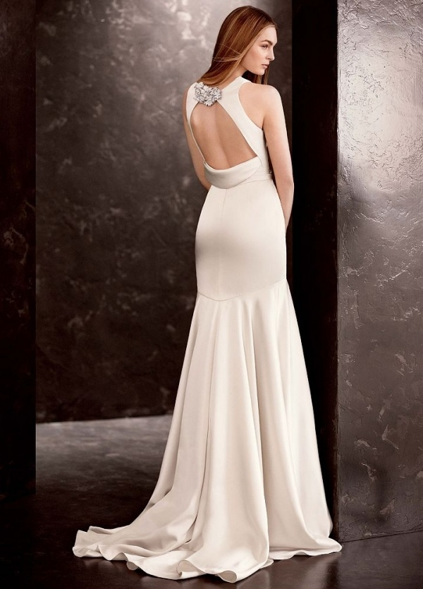 This Vera Wang gown for David's bridal is the epitome of elegance and it's under $500