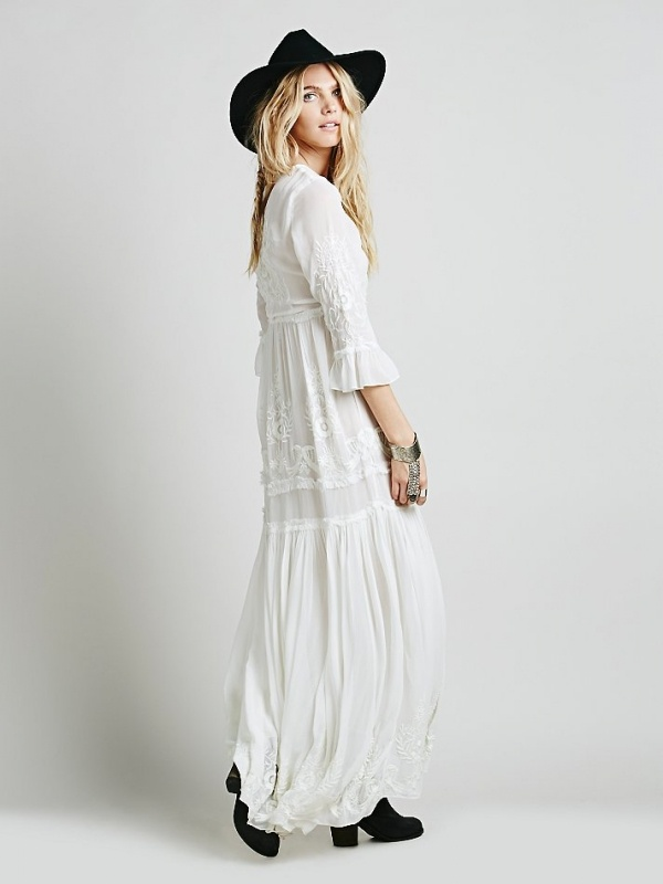 Bohemian wedding dress from free people under $500!