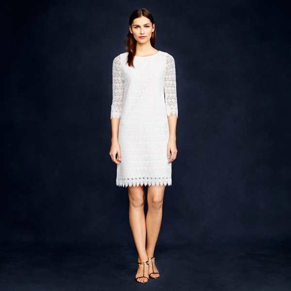 Stunning scalloped lace dress from JCrew under $350