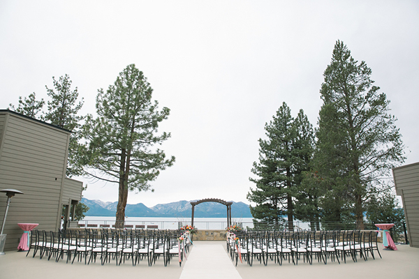 Lake Tahoe wedding. Love this!
