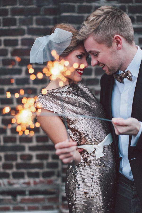 Festive Wintry New Years Eve Wedding Favor Ideas Wedpics Blog