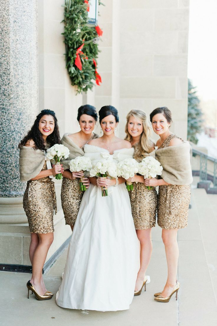 Winter bridesmaid dress and outfit ideas for a seriously stylish ...