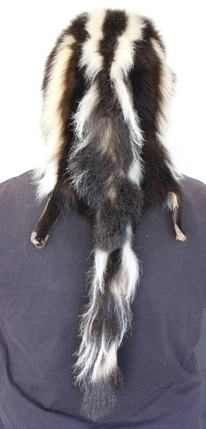 Skunk Mountain Man Fur Hat With 4 Tails Claw Antler Hide Co