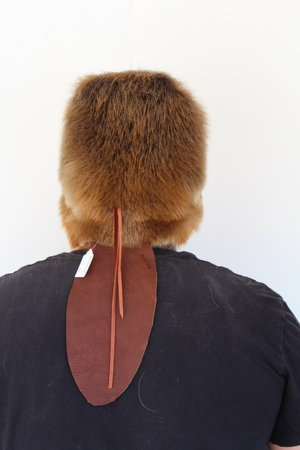 Beaver Mountain Man Fur Hat with Tail — Claw 69c5827fcc6