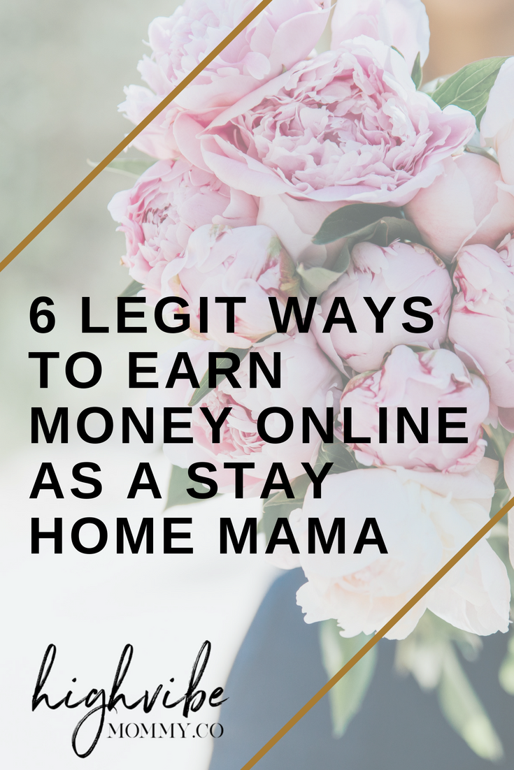 Six legit ways to earn money online as a stay home mama, even if you have no skills!