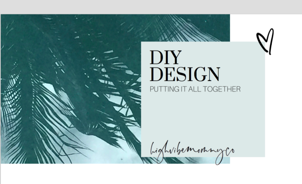Did you know I have a beginners design course? - The basics every BossBabe needs to know!