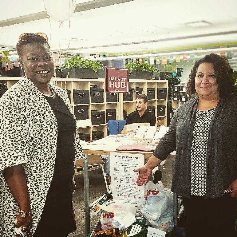Joanne & Ines at Impact Hub - 10.5.17.jpg