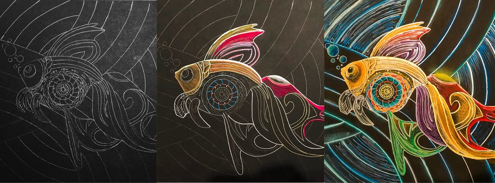 Amazing Technicolor Beta Fish