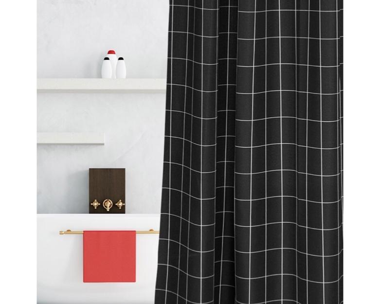 Nordic Modern Shower Curtain