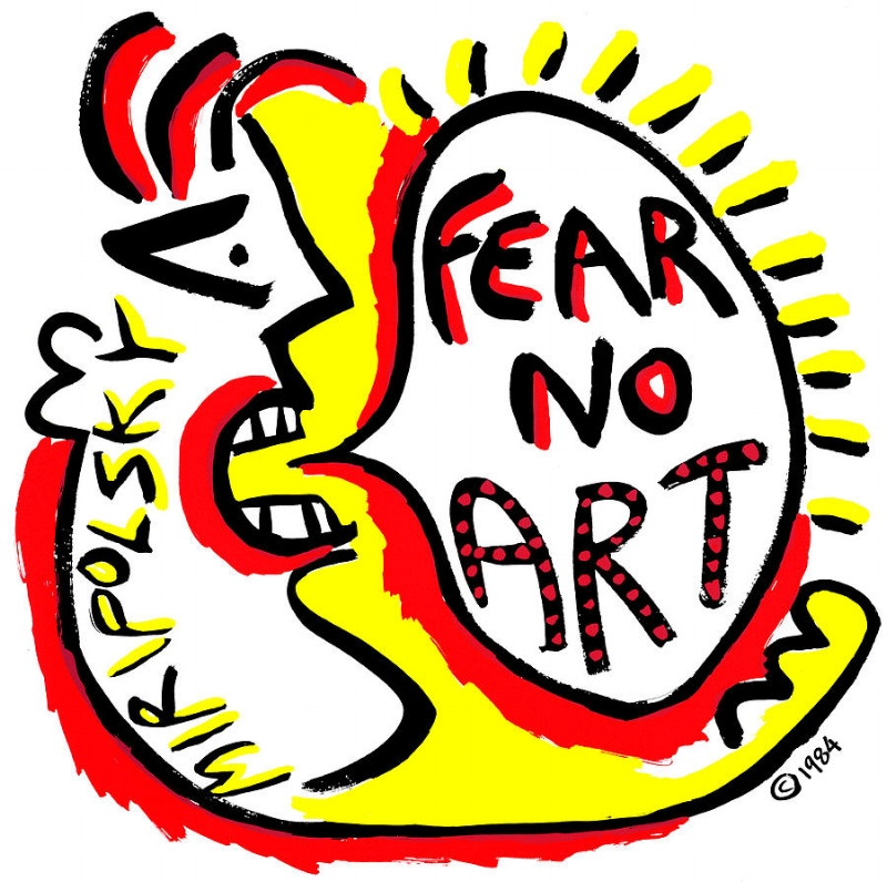 Fear No Art,  Andre Miripolsky, 1984