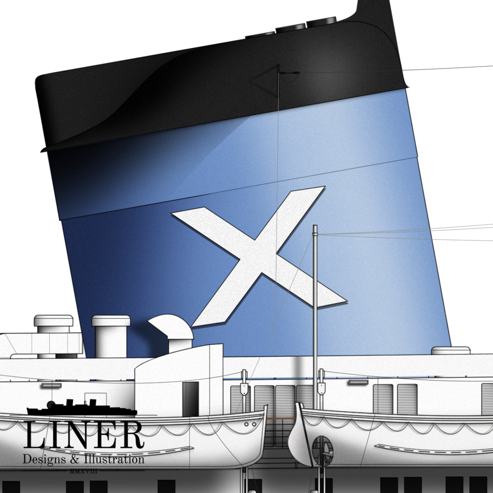 Details of Liner Designs' SS Australis drawing.  Learn More