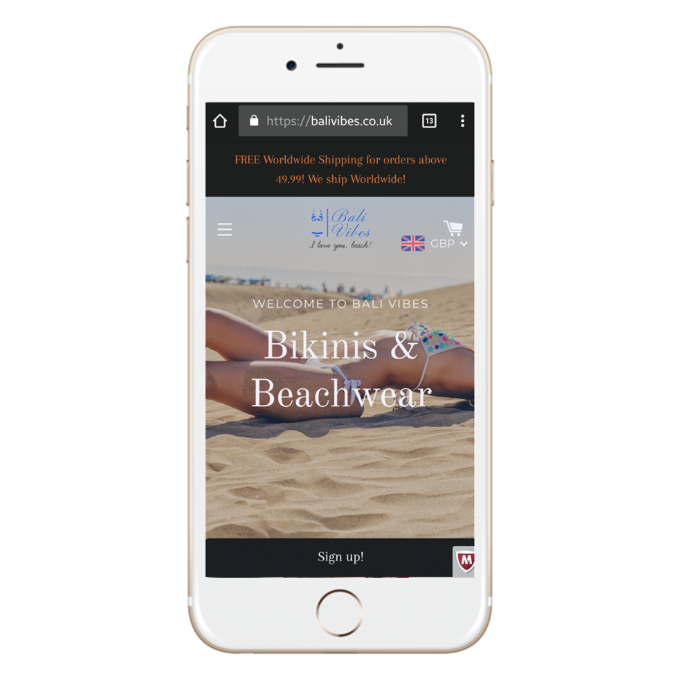 Mobile-Optimized - Combining professional and sleek design at the palm of your hands.