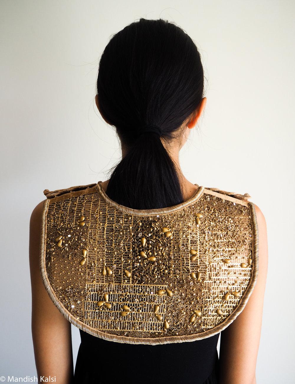 Gorget style Neckpiece