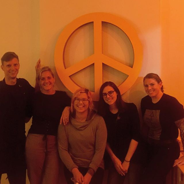 Yes we love our peace sign and we LOVE to bring people together! Last night we celebrated birthdays and engagements🙌 We aim to crush it every moment  with hospitality, fun and presentation. Every experience supports our social impact. #socialinnovation #otrcincy #hospitality #peacesign