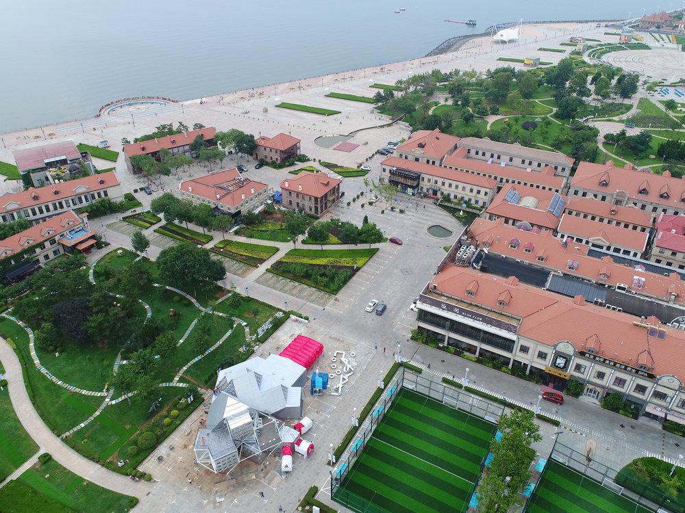 广仁计划 - 通过新的文化规划和商业策划,复兴烟台(原名芝罘)滨海历史文化区的文化和商业。